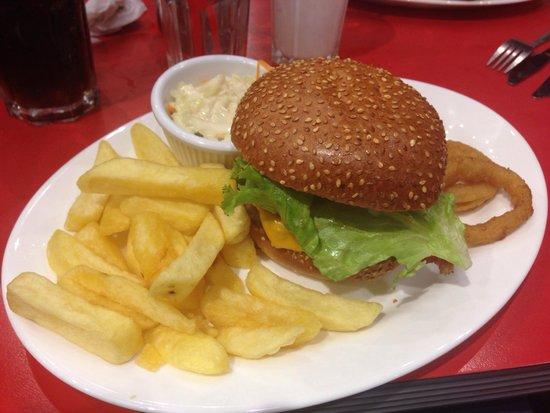 Ed's Easy Diner Birmingham - Selfridges: Big Bubba's Bacon 'n' Cheese