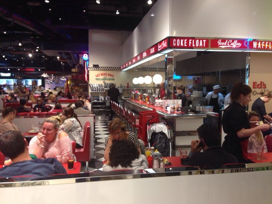 Ed's Easy Diner Birmingham - Selfridges: Ed's Diner