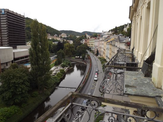 Pension Romania: North from the 4th floor