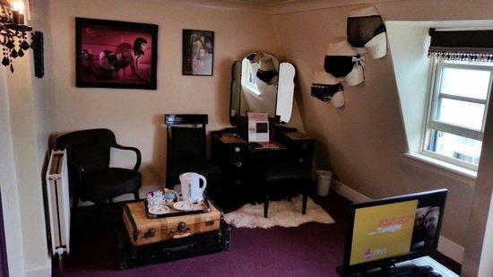 Hotel Pelirocco: Ophelia Fancy room