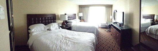 Sheraton Ann Arbor Hotel: Double Bed Room