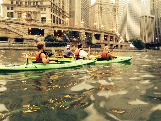 Urban Kayaks: Chicago River with Urban Kayak tour