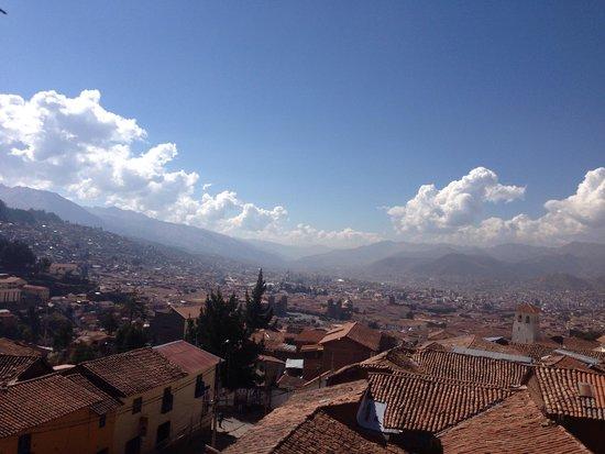Mirador de Santa Ana : Vistas desde el hotel