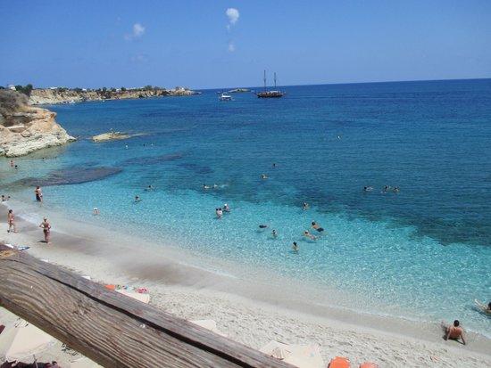 AKS Annabelle Beach Resort: Next bay