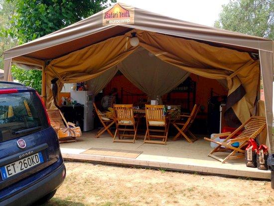 C&ing Village Marina di Venezia Tent living & Tent living - Picture of Camping Village Marina di Venezia ...