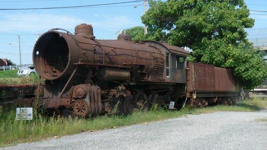 Virginia Museum of Transportation: The Train Time has forgotten
