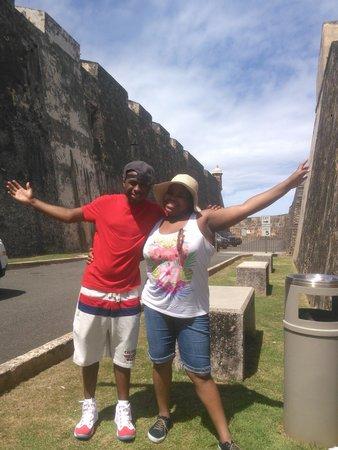 Casa Del Caribe Inn: castillo