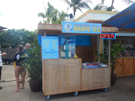 Surfing Monkey Shave Ice: At Marriot Grand Wailea