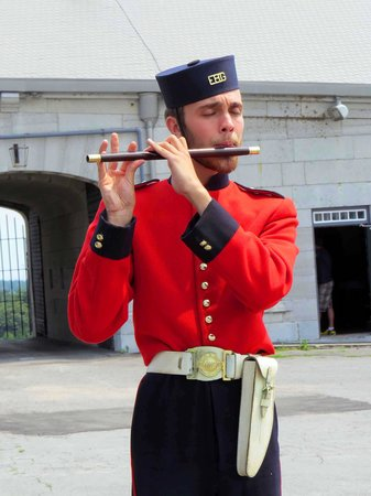 Fort Henry (Fort Henry National Historic Site) : Fort Henry Guard Fife Player