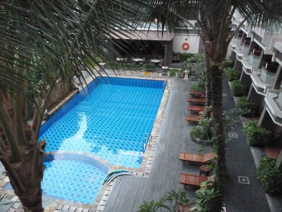 The Vira Bali Boutique Hotel & Suite: From room balcony