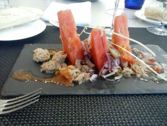 Restaurante Tudela Bardenas: Esta es la calidad del menu