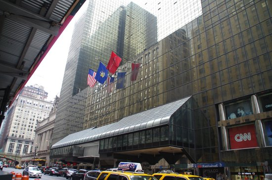 Grand Hyatt New York: outside
