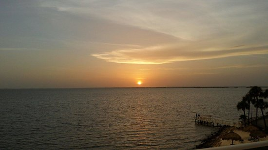 Sailport Waterfront Suites: Amazing sunset 9.1.14