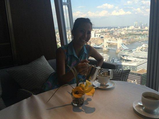 Shangri-La Hotel, At The Shard, London: Afternoon tea at Ting