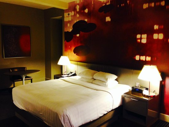 Grand Hyatt New York: bed