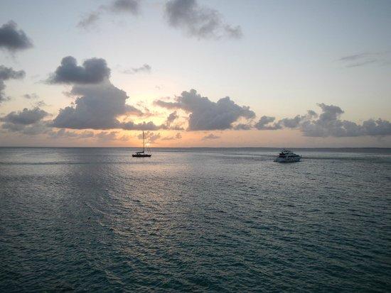 Grand Case Beach Club: Beautiful sunsets