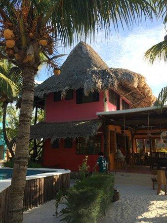 Hotel Casa Palapas del Sol : Rooms