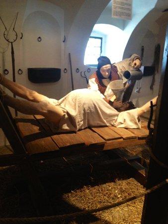 Bouzov Castle: torture museum