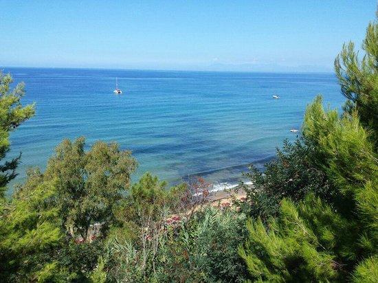 Poggio del Cenito : Spiaggia vista da sopra