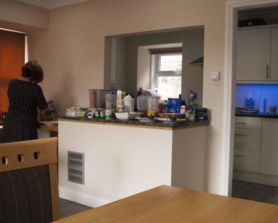 Station House: the breakfast bar