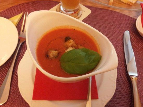 Ristorante Caravelle: Tomato soup
