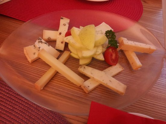 Ristorante Caravelle: Cheese assortment