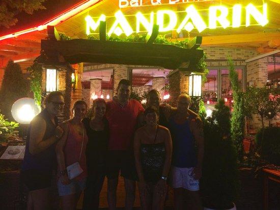 "Mandarin Bar and Diner: Zeg ""MANDERIN"""