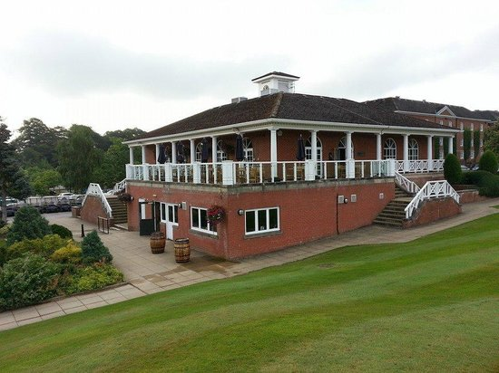 Mottram Hall: Golf clubhouse