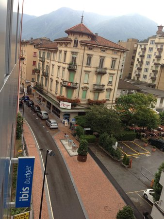Ibis budget Lugano Paradiso: View from room