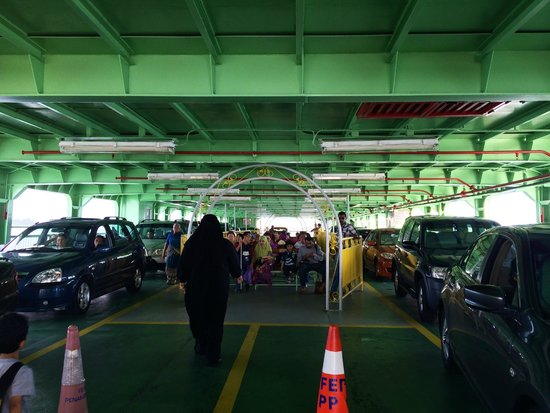 "Penang Ferry Service: The ""cheap seats"""