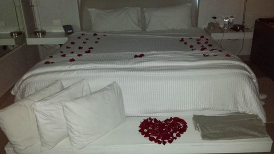 Secrets Silversands Riviera Cancun: our room. verry romantic