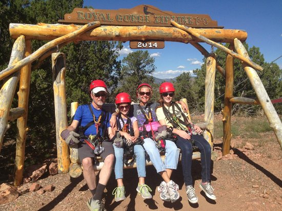 Royal Gorge Zip Line Tours: the family