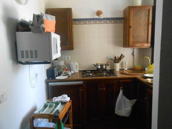 Casitas de la Sierra: cocina