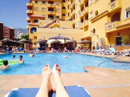 Hotel Apartamentos Vistamar: nice pool