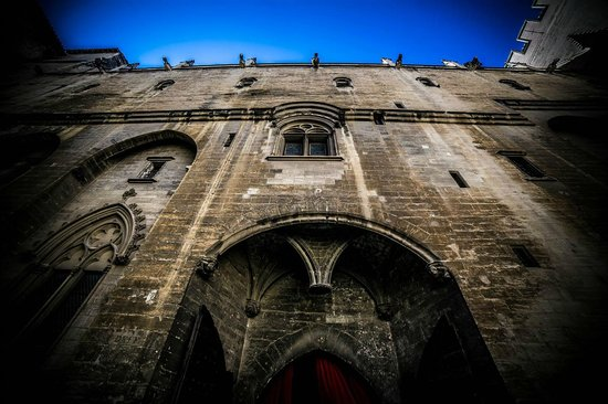 Pope's Palace (Palais des Papes): Wall