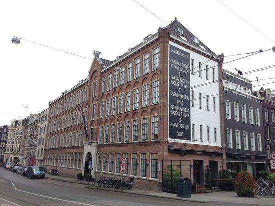Sir Albert Hotel Amsterdam : Hotel building