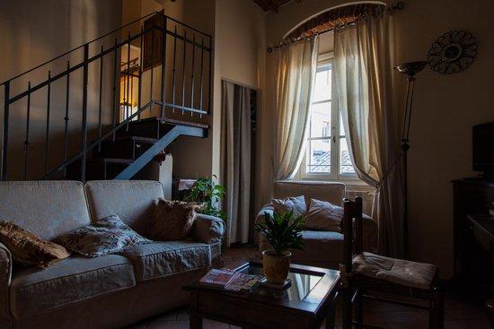 Il Bargello B&B : The sitting room