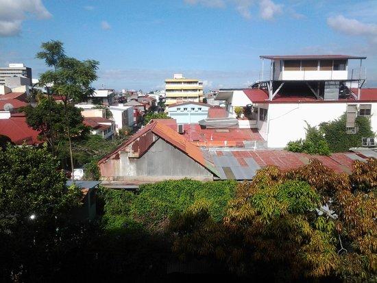Hemingway Inn: Vista desde el balcón hacia el Centro