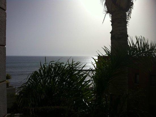 Jardines de Nivaria - Adrian Hoteles: vue de la chambre côté mer