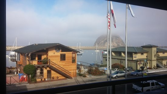 456 Embarcadero Inn & Suites: view from the breakfast room