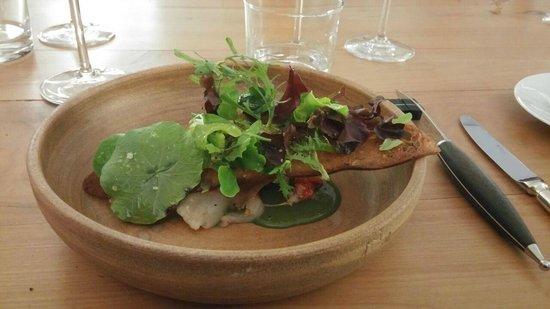 Restaurant le Prince Noir : salade de homard
