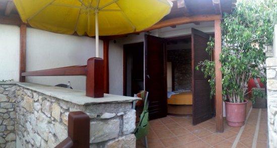 Villa Maraki: balcone vista mare