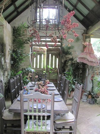 Hunte's Gardens : Beautiful dining area of the house