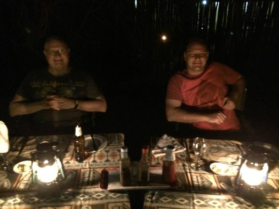 Royal Kruger Lodge: Dinner in the Goma