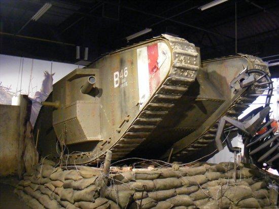 The Tank Museum : tank diorama