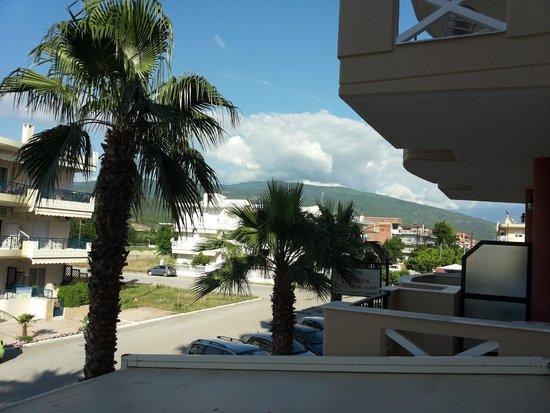 Evdion Hotel: Ausblick auf den Olymp!