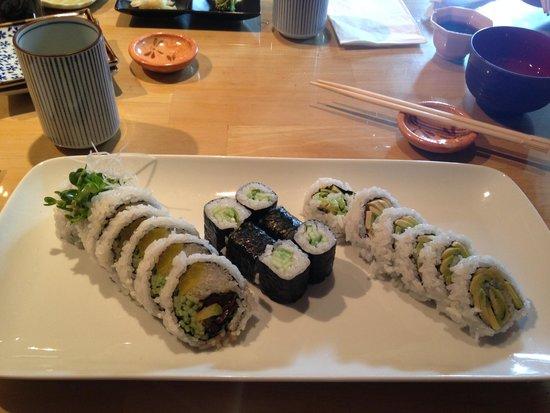 Dynamite lunch box combo picture of akasaka japanese for Akasaka japanese cuisine