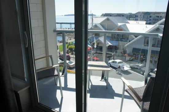 The Sidney Pier Hotel & Spa : Room 407 Junior Suite balcony