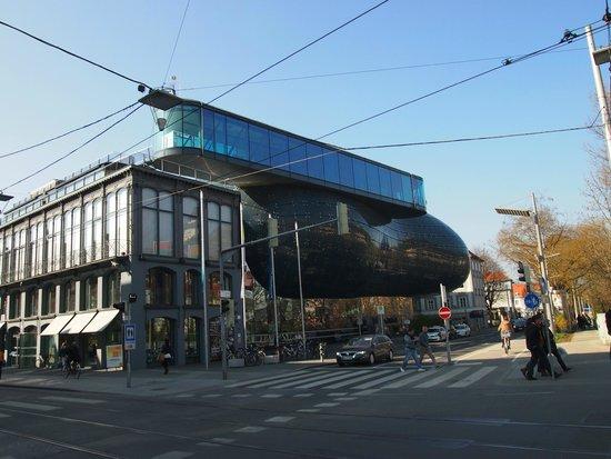 Kunsthaus Graz : Vista general