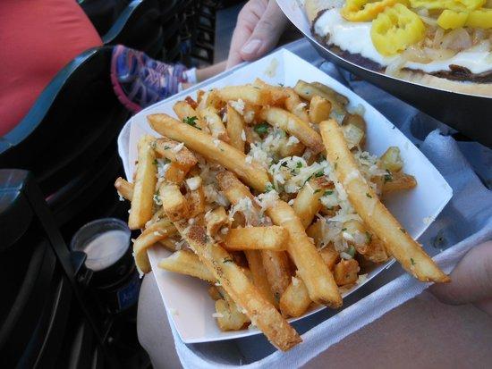 Safeco Field: Garlic Fries